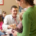 Dr. Wells during well child visit