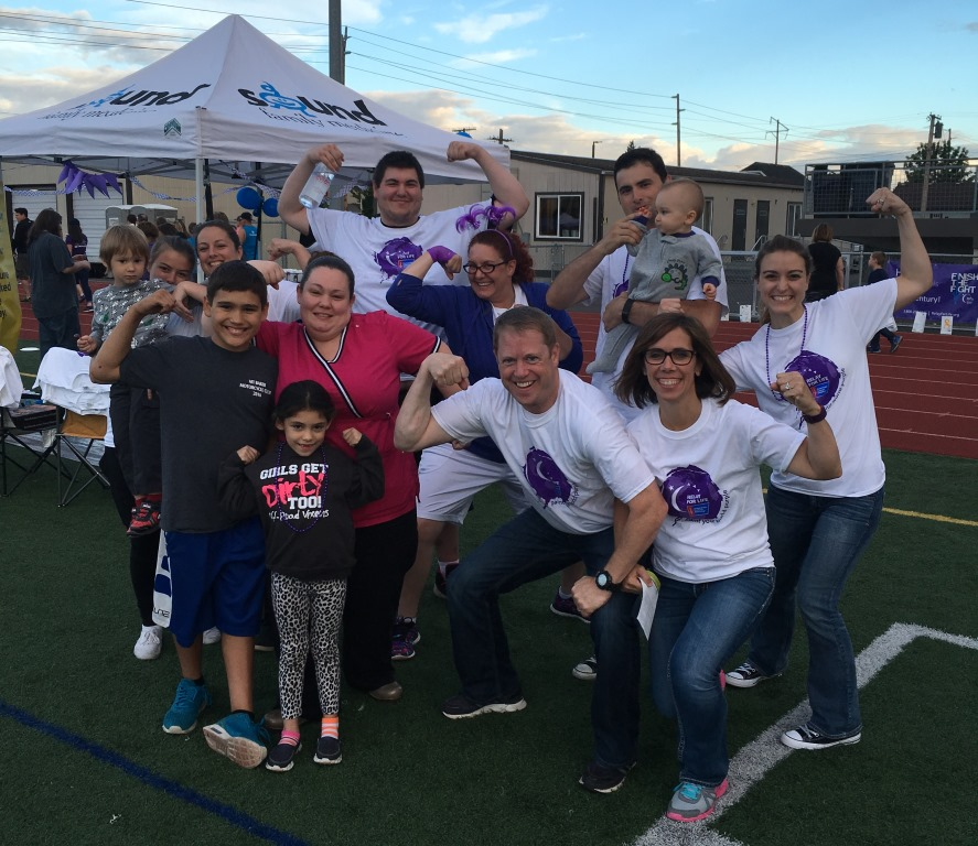 relay for life team photo