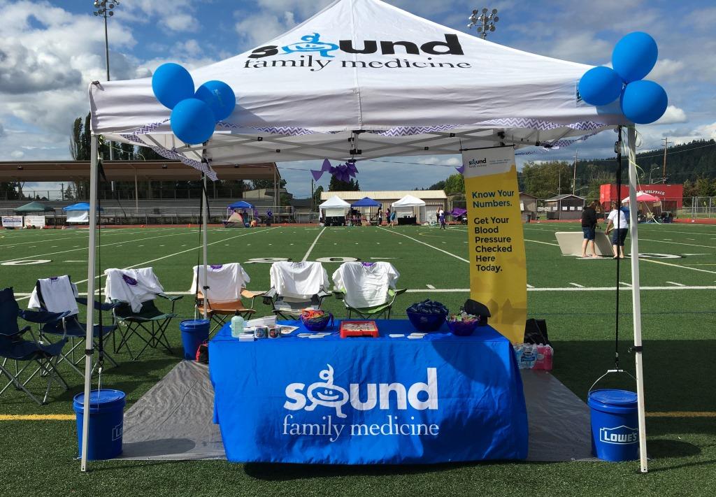 SFM Relay for Life tent & We Relay for Life u2013 Sound Family Medicine