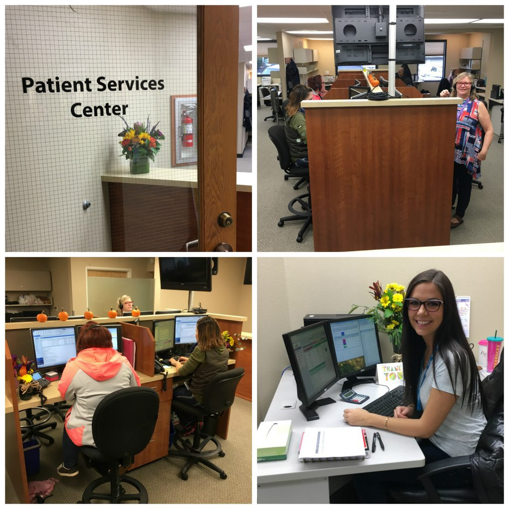 patient services center grand opening