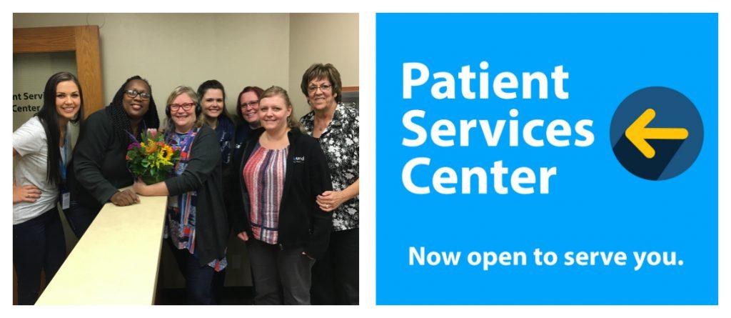 Sound Family Medicine patient services center