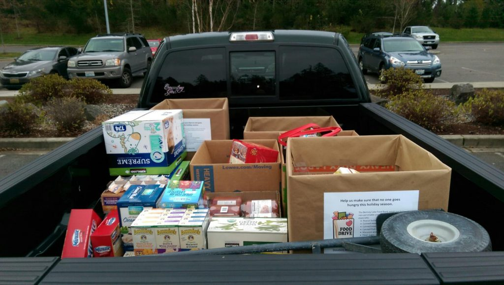 holiday food donations