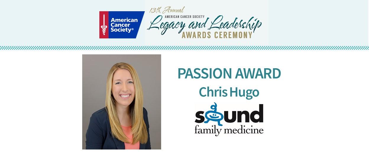 Chris Hugo Recognized with ACS Passion Award