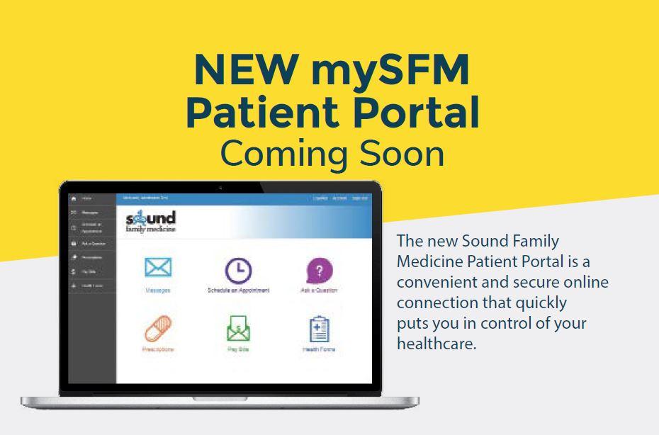 New mySFM patient portal coming soon!