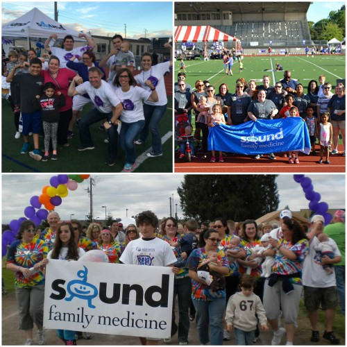 Sound Family Medicine Relay for Life photo collage