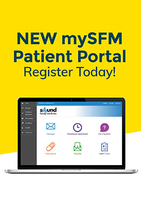 mySFM patient portal - register today!