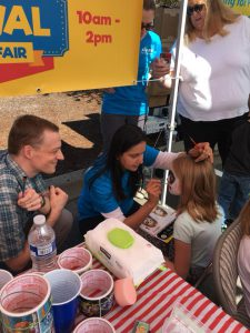 Free face painting by Sound Family Medicine doctors