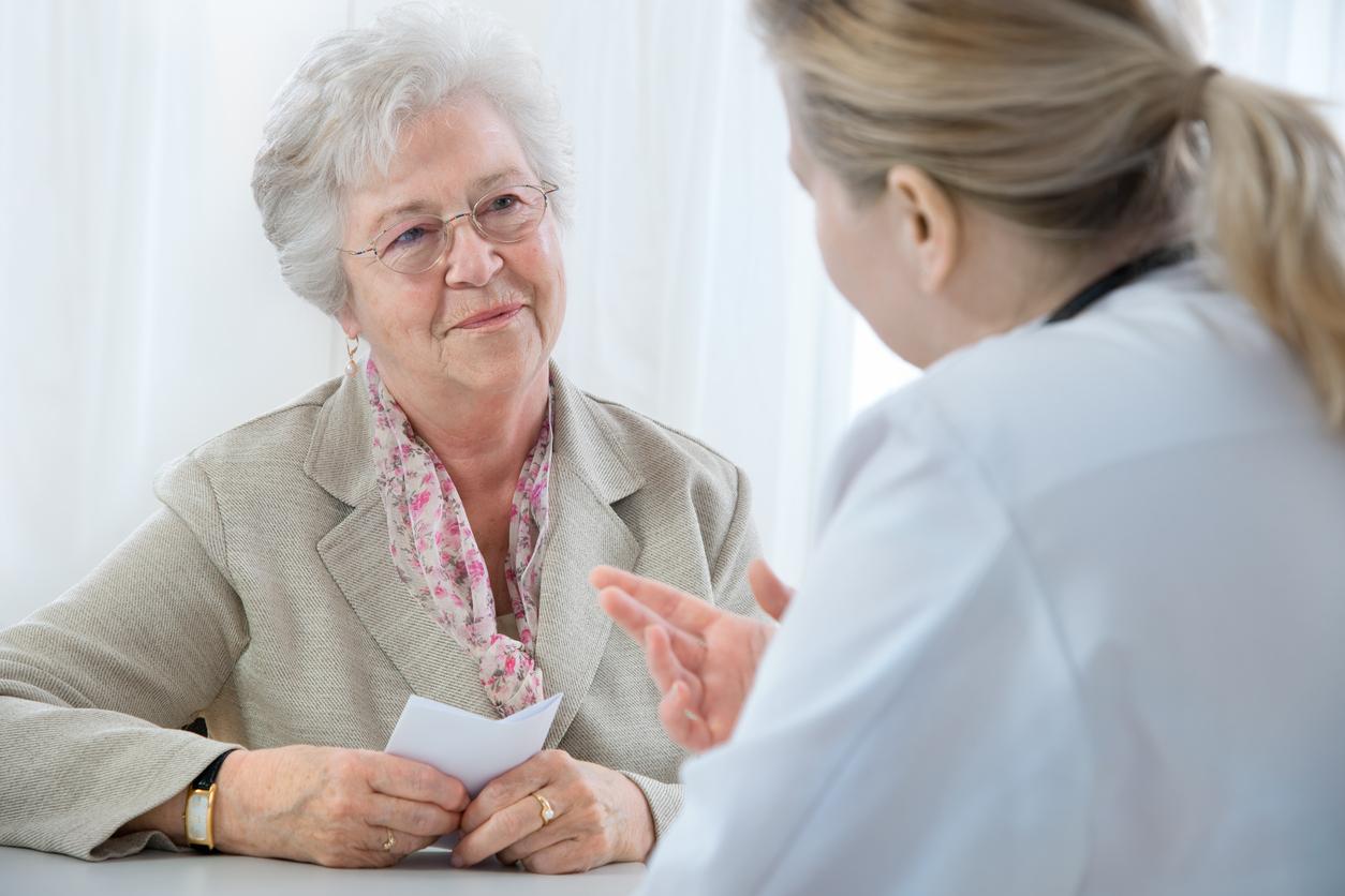 Patient asking question about pneumonia vaccine