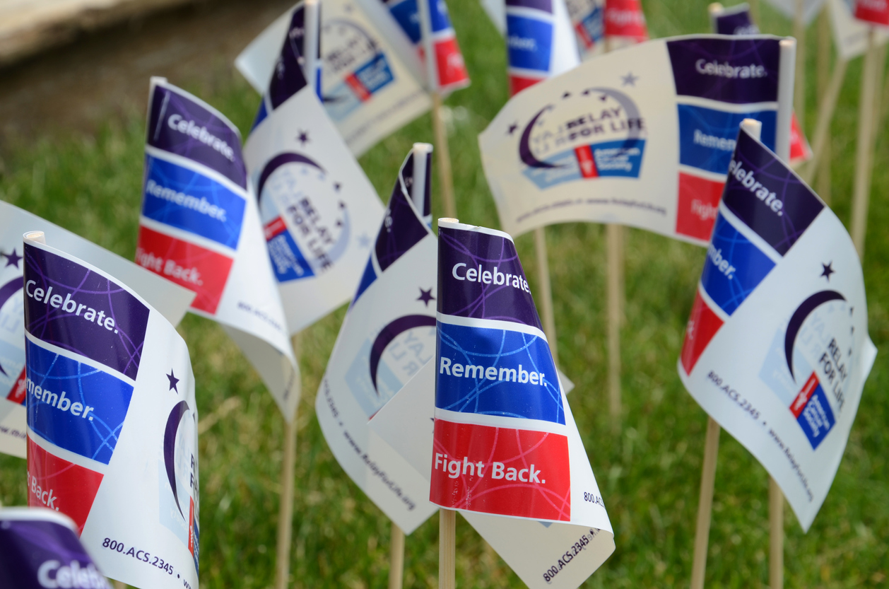 Relay for life flags