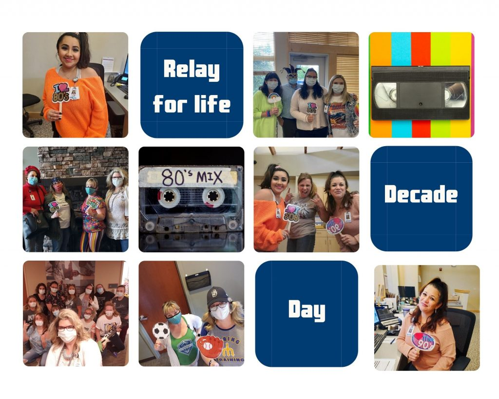 Photo collage of our decade day.